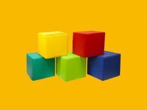 Cubi Morbidi in Gommapiuma | Giochi Morbidi